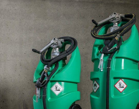 3 typer, Bensin, Diesel og Addblu